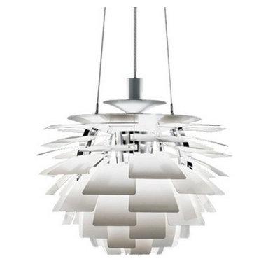 Louis Poulsen PH Artichoke pendant Lamp White by Poul Henningsen -