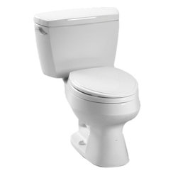 Toto - Toto CST716 Cotton White Carusoe Two Piece Toilet, 1.6 GPF - The Carusoe collection from Toto offers a classically styled look that will complement any home decor.
