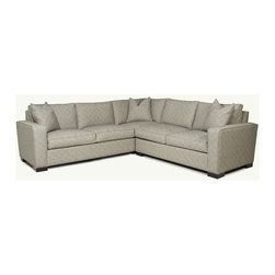 """Grace Collection Sectionals - Okay, we'll let you in on a little secret. If you ever visit one of the Younger family's homes, you'll find the Grace sectional sitting pretty in the great room. It's not that we love our other creations any less, it's just that this is just an unbelievably comfortable piece, the kind you sit """"in"""" rather than """"on."""" And if you really want to feel like your resting on a cloud, you simply must check out the Feather & Down cushion options. But, really, it's not just us that can't bear to live without grace; this is our most popular sectional and, other than the wonderful comfort, it could be that, with all the options we offer, this sectional can work great in just about anyone's home."""