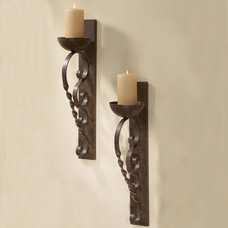 Mediterranean Candles And Candle Holders by Iron Accents