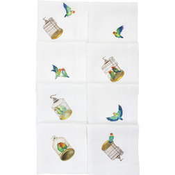 Contemporary Napkins by Huddleson Linens