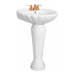 24 Inch Pedestal Sink : Shop 24 Inch Pedestal Sink Bathroom Sinks on Houzz