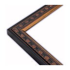 The Frame Guys - Moroccan Black Picture Frame-Solid Wood, 8.5x11 - *Moroccan Black Picture Frame-Solid Wood, 8.5x11