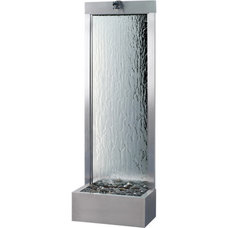 Contemporary Indoor Fountains by Soothing Company