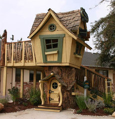 traditional outdoor playsets by The Well Appointed House