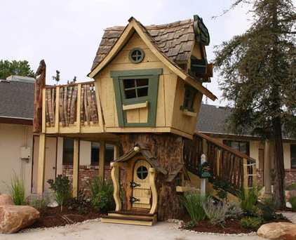 Traditional Outdoor Playhouses by The Well Appointed House