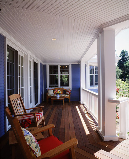 Traditional Porch by Duxbury Architects