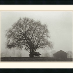 Amanti Art - Pleasant Hill Framed Print by Jim Morris - Jim Morris has captured a timeless moment with this peaceful farm scene. The framed piece is perfect in any room where you'd like to seek a little tranquility.