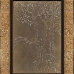 Paragon Decor - Woodlands Artwork - Exclusive Mixed Media Shadow Box