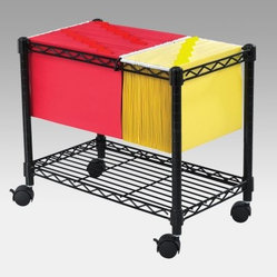 Wire Mobile Filing Cart The Wire Mobile Filing Cart When