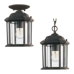 Sea Gull Lighting 60029 Kent Outdoor Hanging Lantern