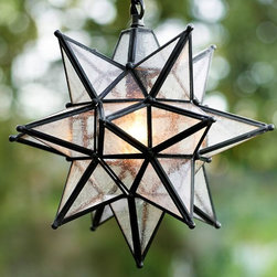 Olivia Star Pendant - This Moravian star pendant is sure to make a statement in any outdoor room.