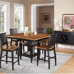 Steve Silver - Steve Silver Candice Counter Height Chairs - Set of 2 - SSC1599 - Shop for Dining Chairs from Hayneedle.com! Dress up dinner time with the down-to-earth charm of the Steve Silver Candice Counter Height Chairs - Set of 2. With a two-tone design these chairs feature oak-finished wooden seats with a contoured shape for extra comfort. You get to choose the coordinating color and any option is a savvy choice thanks to the vertical slat backs and classic tapered legs. Pair with other pieces in the Candice dining collection.About Steve SilverSince its founding in Forney Texas in 1987 the Steve Silver Company has had a simple focus: to provide the best quality product at an irresistible price back it up with uncompromising service and continue to improve every day. As one of the premier suppliers of dining sets and occasional furniture in the country Steve Silver is proud to make you the customer its top priority utilizing state-of-the-art equipment proven operating procedures and over 500 000 square feet of facilities. You'll feel equally proud displaying furniture from the Steve Silver Company in your home.