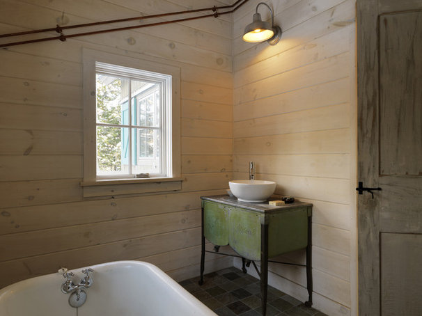 Rustic Bathroom by Susan Teare, Professional Photographer