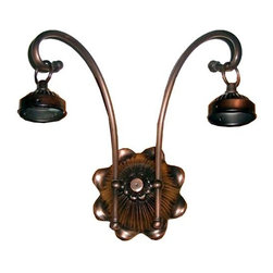 Meyda Tiffany - Meyda Tiffany Sconces Wall Sconce in Mahogany Bronze - Shown in picture: 2 Arm Victorian Sconce