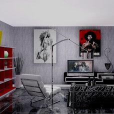 Modern Living Room by Widi Soehadi