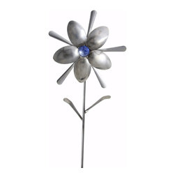 Forked Up Art - Andromeda - Flower - A great display for the garden!