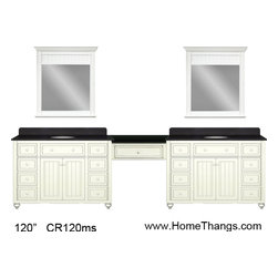 Bathroom Makeup Vanities - Best price with additional discounts and free shipping available at: http://www.homethangs.com/blog/2014/07/bathroom-makeup-vanity-building-a-makeup-station-from-modular-parts/