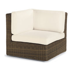 Set of Two Hyde Park Center Chair Cushions - Frontgate, Patio Furniture