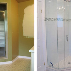 House Four: Master Bathoom Reno Before and After