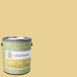 Inspired Semi-Gloss Interior Paint, Beeswax .02, Gallon - Colorhouse paints are zero VOC, low-odor, Green Wise Gold certified and have superior coverage and durability. Our artist-crafted colors are designed to be easy backdrops for living. Colorhouse paints are 100% acrylic with no VOCs (volatile organic compounds), no toxic fumes/HAPs-free, no reproductive toxins, and no chemical solvents.