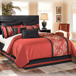 """Kids Furniture - The """" Contemporary Almost Black"""" bedroom collection brings together a rich dark finish with the sophisticated detailing to create furniture that is sure to awaken the decor of any bedroom with stylish contemporary flair. The contemporary replicated almost-black paint finish features a rich merlot undercoat which flows beautifully over the Swooping shaped base rails and the straight-lined design with wide segmented details framing the bed and mirror. Adorned perfectly with the complementing satin nickel color hardware, this bedroom collection fits flawlessly into any home decor. Create the bedroom of your dreams with the exciting contemporary style of the """" Contemporary Almost Black"""" bedroom collection."""