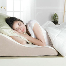 Avana Ogee Memory Foam Back Support Pillow - Avana Ogee Memory Foam Back Support Pillow suits your comfort preference and sleeping position. Whether you are using it to elevate your legs or raise your head and torso, this multi-position pillow provides comfort and support however it is needed. It is manufactured with Memory Foam designed with highly temperature sensitive, breathable, self-molding characteristics.