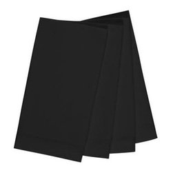 KAF Home - Bistro Black Napkin, Set of 8 - A set of four bistro napkins turns any kitchen or dining table into an elegant bistro setting. Soft to the touch, these napkins add style and comfort to the kitchen. Available in three colors.