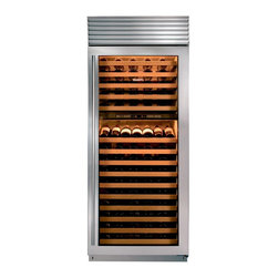 "30"" wine storage - Sub-Zero wine storage units act not merely as coolers but as guardians against the four enemies of wine: heat, humidity, light, and vibration."