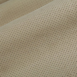 Perforated Metrosuede Upholstery in Eucalyptus - Perforated Metrosuede Upholstery in Eucalyptus. Green Grey Highly durable, stain resistant faux suede fabric ideal for reupholstering sofa, chairs, etc.