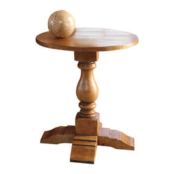 """Signature Design by Ashley - Signature Design by Ashley Shirwind Round End Table 23"""" Height x 22"""" Width x 22"""" - Shirwind Round End Table 23"""" Height x 22"""" Width x 22"""" Depth T735-6"""