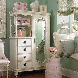 Lea Children's Furniture - Emmas Treasures Mirror Door Chest - Emmas Treasures Mirror Door Chest