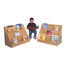 Strictly for Kids Premier Deluxe Maple Infant/Toddler Book Display - About Strictly for KidsBased in Tacoma, Wash., Strictly for Kids prides itself on creating top quality furniture and equipment for preschools, daycares, head start classrooms, and more. With high quality materials like birch plywood and products that exceed safety requirements, Strictly for Kids is a company you can trust.
