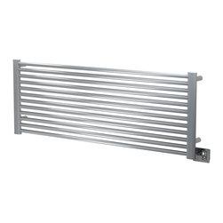 Amba - Amba Sirio S-5721 Series Collection Towel Warmer - Dual-purpose radiator functions as towel warmer and space heater