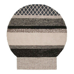 Gandia Blasco - Patricia Urquiola - MG3 Globo Wool Rug - Gandia Blasco - All of the modern rugs by Gandia Blasco are Goodweave certified and the perfect addition to any room in your home. Yarn composition: 100% New Wool. Hand loomed. Designed by Patricia Urquiola.