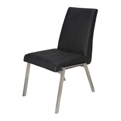 Phyl Dining Chair, Set of 2, Black