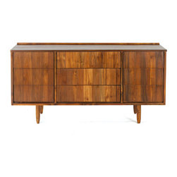 Teak Me Home - Bronson Credenza - Solid Reclaimed Teak Wood - 100% Solid Reclaimed Teak