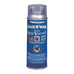 Valspar - Valspar 12 Oz Semi-Gloss Spar Varnish Spray Paint (6-Pack) (80-7557 SP) - Valspar 80-7557 SP 12 Oz Semi-Gloss Spar Varnish Spray Paint
