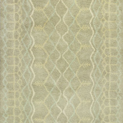 "KAS - KAS Amore 2711 Pueblo (Sand) 3'3"" x 5'3"" Rug - This Hand Tufted rug would make a great addition to any room in the house. The plush feel and durability of this rug will make it a must for your home. Free Shipping - Quick Delivery - Satisfaction Guaranteed"