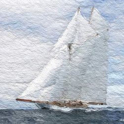 Heather Offord - Nautical Sailing Large Art, Beautiful Ocean Art - Before we get into the details I just wanted to say thank you so much for stopping to look at my art!