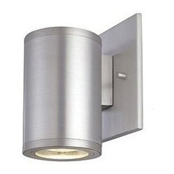 Silo Single Exterior Wall Sconce by CSL