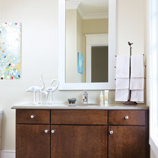 Modern Bathroom Vanities And Sink Consoles by Wellborn Cabinet, Inc.