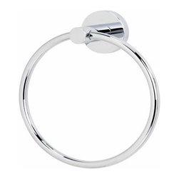 Alno Inc. - Alno Creations Contemporary I  Towel Ring Satin Nickel A8340-Sn - Alno Creations Contemporary I  Towel Ring Satin Nickel A8340-Sn
