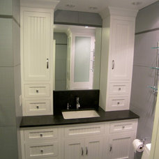 Traditional Bathroom by Edko Cabinets,LLC