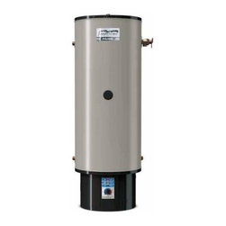 Polaris - Have one to sell? Sell it yourself Polaris 50 Gallon 199K BTU Hot Water Heater - This is a brand new Polaris water heater from American Water Heaters (model PG10-50-199-3PV) . Technology that combines water heating and residential space heating into a single, super high-efficient water heating system. Polaris has a high-grade 444 stainless steel tank with brass connections for years of dependable, trouble-free service - no anode required. A submerged combustion chamber with spiral flue provides up to 96% thermal efficiency and ultra-low standby heat loss of approximately 1%.