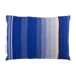 T.E. 032 CUSHION DARK BLUE By Thomas Eyck - The T.E. 032 Cushion in dark blue is super soft, and highly decorative for your living room or bed rooms. It is made with Marino wool and cotton.
