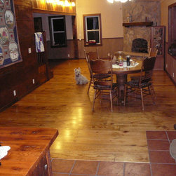 Southern Yellow Pine Flooring Style and Shades -