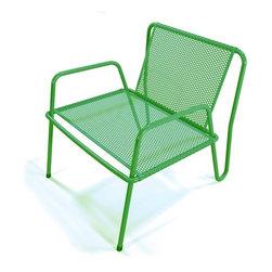 Markamoderna - Markamoderna | ALTAMIRA Perforated Stainless Steel Lounge Chair - Design by Javier Cristiani, 2013.