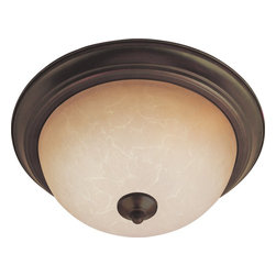 Maxim Lighting - Maxim Lighting Flush Mount ES Traditional Flush Mount Ceiling Light X-IOSW14858 - Maxim Lighting's energy efficiency commitment to both the residential lighting and the home building industries will assure you a product line focused on your basic lighting needs. With the Flush Mount EE collection you not only will find quality lighting that is well designed, well priced and readily available, but also energy efficient featuring energy saving fluorescent lighting that saves money and allow for low maintenance.