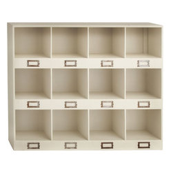 """Benzara - The Lovely Wood Wall Shelf - If you receive a lot of mail and are finding it difficult to organize it, then, what you need is the wood wall shelf. In a most lovely cream color, this wall shelf has 12 compartments with a provision for naming each on them. This shelf will not only help you with organizing your mail and other small items, but it will also give definition to your wall and remove any blandness it might naturally possess. Not too large in size, this shelf will fit against any wall even though the room might be small. Perfect for homes that have modern themes and modern color combinations, this wall shelf is the gem amidst the range of shelves that the market offers. A perfect gift for an important person; or indeed, you might be that person. So consider getting this cool wood wall shelf today. Wood wall shelf dimensions: 30 inches (W) x 6 inches (D) x 24 inches (H); Shelf color: Cream; Made from: Wood; Dimensions: 22""""L x 28""""W x 38""""H"""